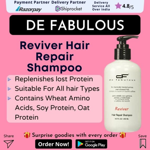 De Fabulous Reviver Hair Repair Shampoo