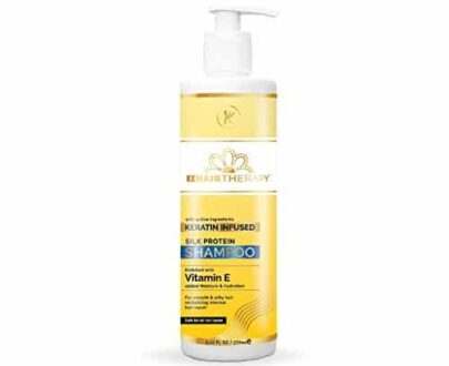 KT Kehairtherapy's Sulfate Free Silk Protein shampoo