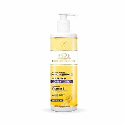 KT Kehairtherapy's Sulfate Free Silk Protein Conditioner for chemically treated hair 250 ml 3
