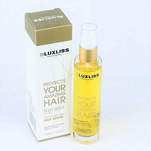 LUXLISS KERATIN PROTIN REPLENISH HAIR SERUM 50ML 3