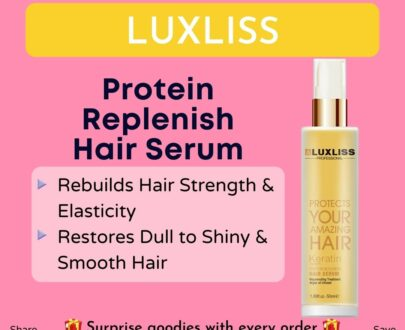 LUXLISS KERATIN PROTIN REPLENISH HAIR SERUM