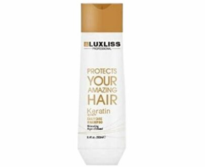 Luxliss Professional Protects Your Amazing Hair Keratin System Daily Care Shampoo