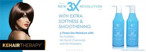 KT Professional Kehairtherapy Sulfate-free 3X Moisture Shampoo 4