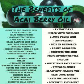 Acai oil benifits 1