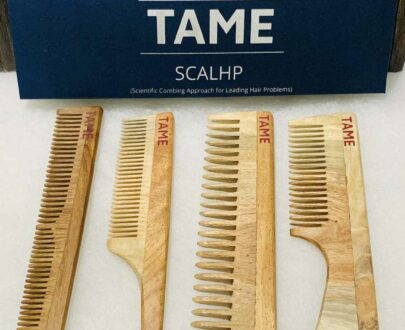 Handcrafted Traditional Neem Wooden Comb
