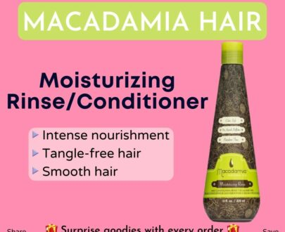 Macadamia Moisturizing Rinse:Conditioner