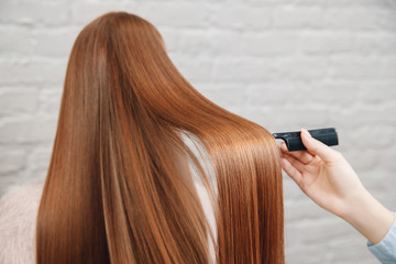 What is a keratin treatment and how is it done?