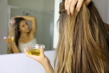 keratin-treated hair