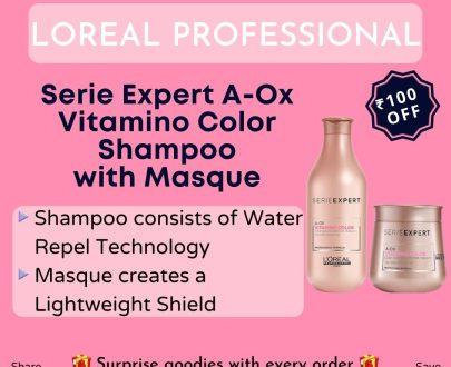 LOreal Paris Serie Expert A-Ox Vitamino Color Shampoo with Masque