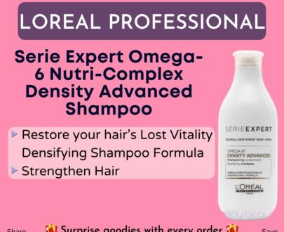 LOreal Paris Serie Expert Omega-6 Nutri-Complex Density Advanced Shampoo
